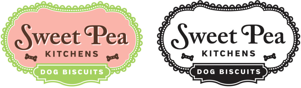 New logo for Sweet Pea Kitchens